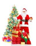 La Navidad Santa Fotos de archivo