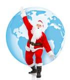 La Navidad Santa imagen de archivo libre de regalías