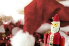 La Navidad Santa Claus Doll Fotografía de archivo libre de regalías
