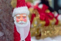 La Navidad Santa Claus Doll Fotos de archivo