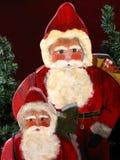 La Navidad santas Imagen de archivo libre de regalías
