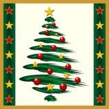 La Navidad stars el fondo Fotografía de archivo