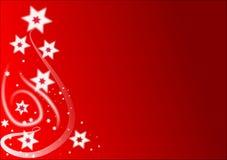 La Navidad Stars el fondo ilustración del vector