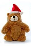 La Navidad Teddy Bear Foto de archivo