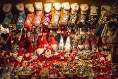 La Navidad tradicional justa en Italia Fotos de archivo libres de regalías