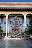 La Navidad tropical Fotografía de archivo libre de regalías