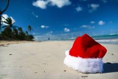 La Navidad tropical Foto de archivo libre de regalías