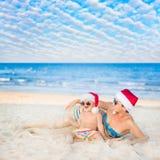 La Navidad tropical Fotos de archivo libres de regalías