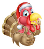 La Navidad Turquía de la historieta Imagen de archivo
