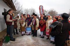 La Navidad ucraniana Imagen de archivo libre de regalías