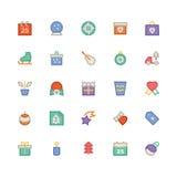La Navidad Vectors los iconos 5 Fotografía de archivo