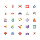 La Navidad Vectors los iconos 8 Fotos de archivo