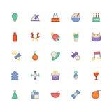 La Navidad Vectors los iconos 2 Fotografía de archivo libre de regalías