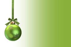 La Navidad verde Foto de archivo