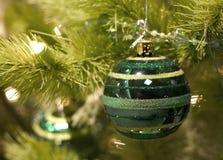La Navidad verde Imagen de archivo libre de regalías