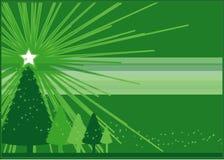 La Navidad verde Fotografía de archivo libre de regalías