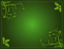 La Navidad verde Imágenes de archivo libres de regalías