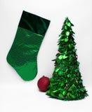 La Navidad verde imagen de archivo