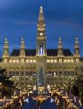La Navidad vienesa justa Fotografía de archivo