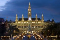 La Navidad vienesa justa Fotos de archivo libres de regalías