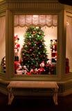 La Navidad Windows Fotografía de archivo libre de regalías