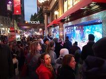 La Navidad Windows, Nueva York de Macy imagen de archivo libre de regalías