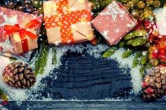 La Navidad y Año Nuevo foto de archivo libre de regalías