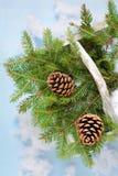 La Navidad y Año Nuevo Decoraciones de la Navidad para un árbol de navidad holidays Decoraciones del día de fiesta Foto de archivo libre de regalías