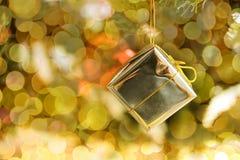 La Navidad y Año Nuevo en el fondo de la decoración Imágenes de archivo libres de regalías
