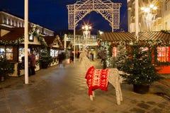 La Navidad y Año Nuevo en Moscú Fotos de archivo libres de regalías