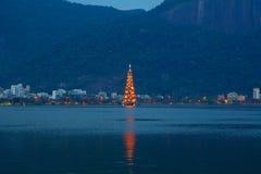 La Navidad y Año Nuevo en Rio de Janeiro Imagenes de archivo