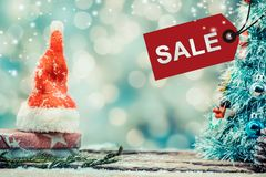 La Navidad y Año Nuevo en venta Fotografía de archivo libre de regalías