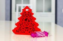 La Navidad y Año Nuevo, joyería, árbol, símbolos Fotos de archivo