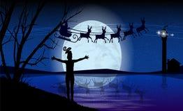 La Navidad y Año Nuevo Papá Noel _2 libre illustration