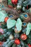 La Navidad y Años Nuevos de composición de las flores Imagenes de archivo