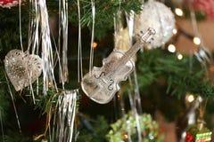La Navidad y Años Nuevos de escena Imágenes de archivo libres de regalías