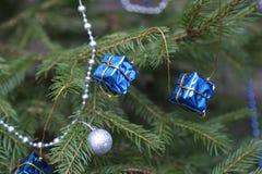 La Navidad y Años Nuevos de escena Imagen de archivo