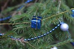 La Navidad y Años Nuevos de escena Fotos de archivo
