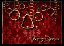 La Navidad 2016 y aviador del partido de la Feliz Año Nuevo Foto de archivo libre de regalías