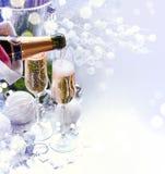 La Navidad y celebración del Año Nuevo imagen de archivo