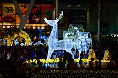 La Navidad y Feliz Año Nuevo 2017 Fotos de archivo libres de regalías