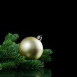 La Navidad y frontera del Año Nuevo Imagen de archivo