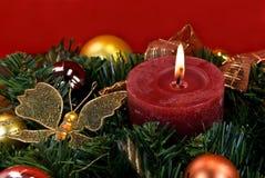 La Navidad y nuevo ornamento de Year Eve - decoración Fotos de archivo