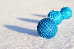 La Navidad y ornamento del Año Nuevo Imagen de archivo libre de regalías