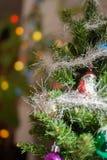 La Navidad y una decoración del Año Nuevo Fotografía de archivo libre de regalías