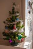 La Navidad y una decoración del Año Nuevo Imagenes de archivo