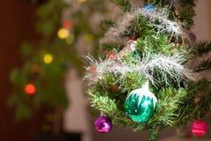 La Navidad y una decoración del Año Nuevo Fotos de archivo