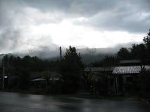 La nebbia di mattina Fotografia Stock