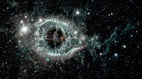 La nebulosa de la hélice imagen de archivo