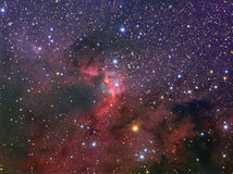 La nebulosa de la cueva Foto de archivo libre de regalías